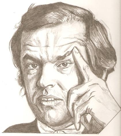 Jack Nicholson par RobCrandall